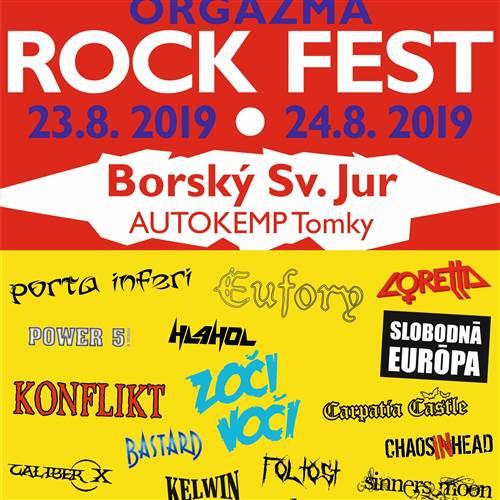 ROCKOVÝ FESTIVAL 2. Ročník ORgazma rock fest