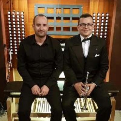 Vladimír Kopec (organ), Tibor Ďurdiak (trúbka)