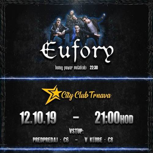Eufory + Lords of Salem v Trnave!