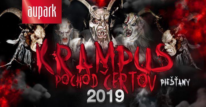 Krampus - Pochod čertov Piešťany 2019 !