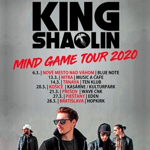 KING SHAOLIN - Mind Game Tour 2020