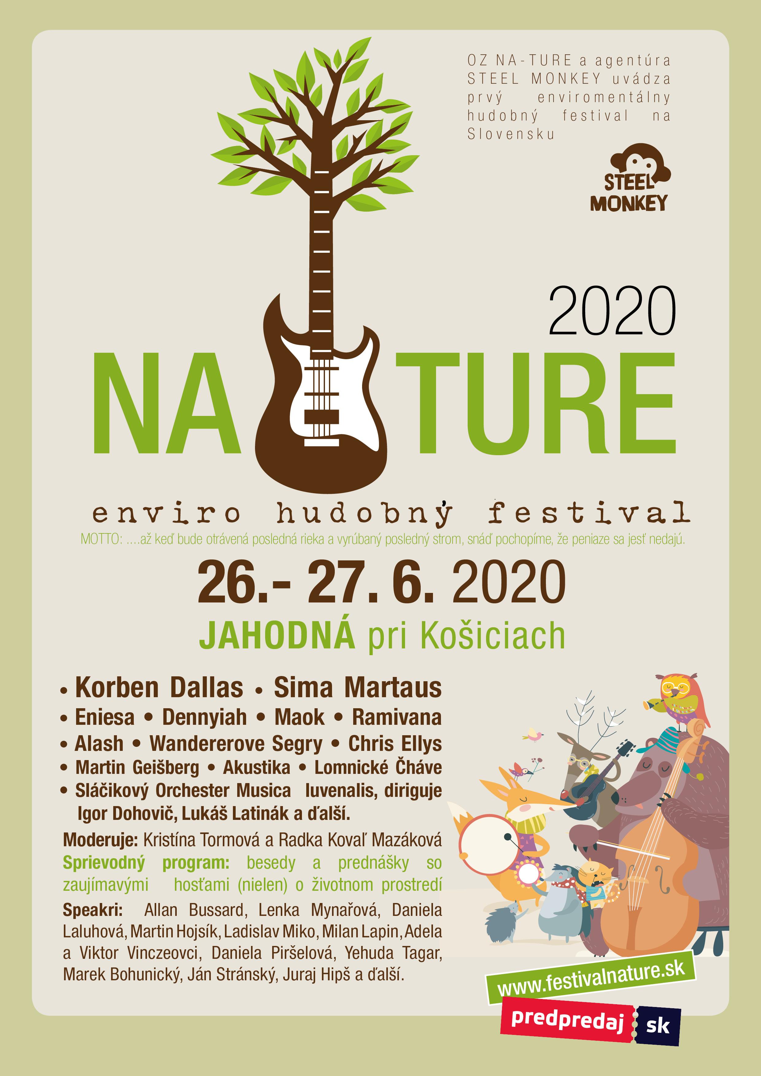 NATURE enviro-hudobný festival